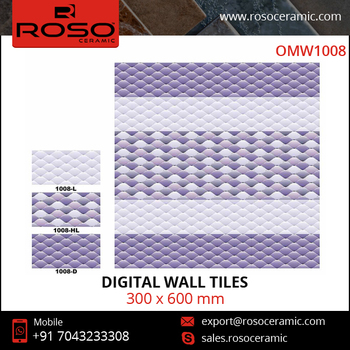 Modern Style Bathroom Kitchen Ceramic Digital Wall Tile