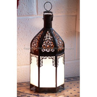 T-light Candle Holder Metal Lantern Lamp ~Antique Decorative Outdoor Hanging Garden Wrought Iron Lantern Candle Holders