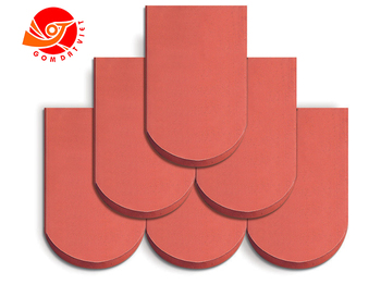 Clay Roofing Tile Made By Natural clay antibacterial Materials Terracotta Roofing Tiles Handmade Style