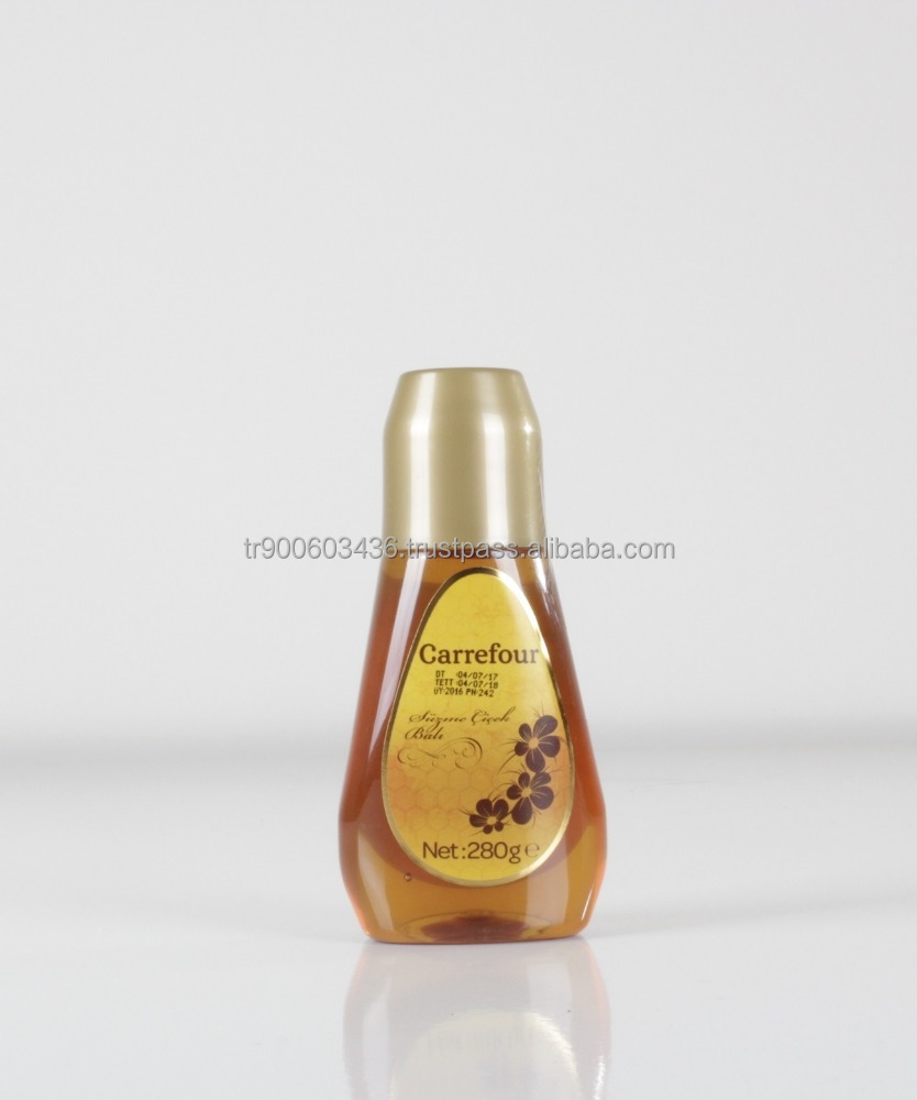 high quality Squeeze Squeezable PET Honey Bottle 280ml 400ml