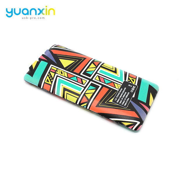 Promotional Ultra Slim RoHS Gift Card Power Bank 4000 MAh