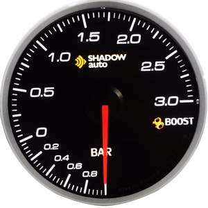 auto race 60mm turbocharger boost gauge and sensor