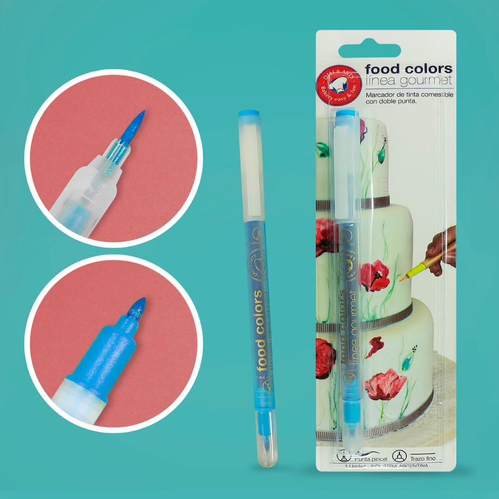Edible Food Coloring Cake Baking Markers Pens For Promotion Buy Food Coloring Markers Edible Food Coloring Edible Food Pen Product On Alibaba Com