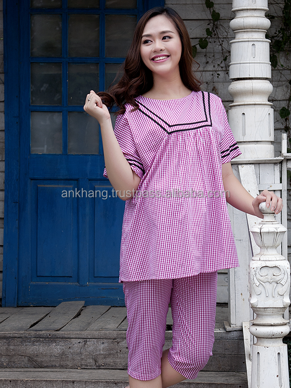 Maternity cotton pajamas for sale