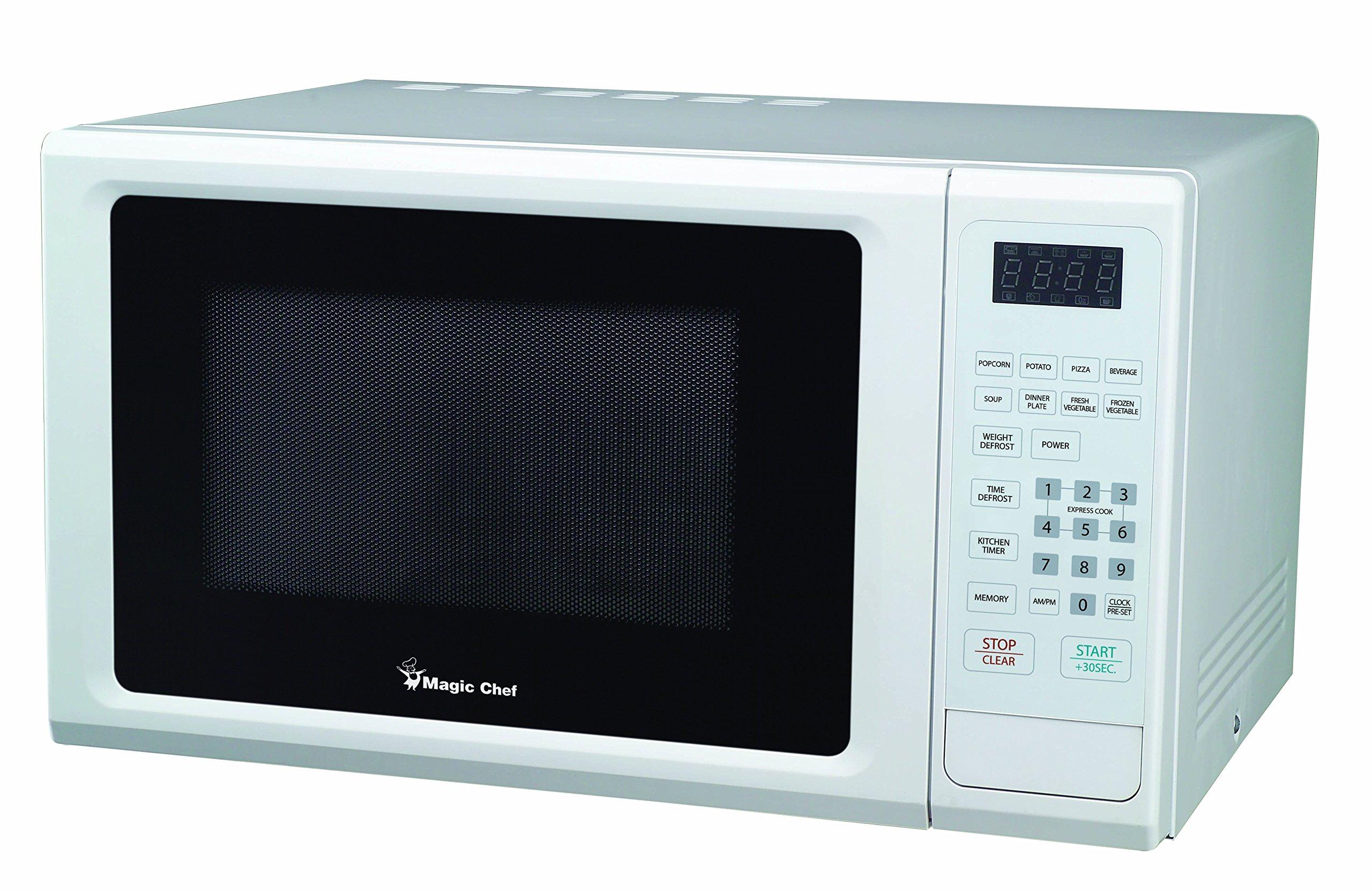 Magic Chef MCM1110W 1.1 cu.ft. 1000W Microwave, White