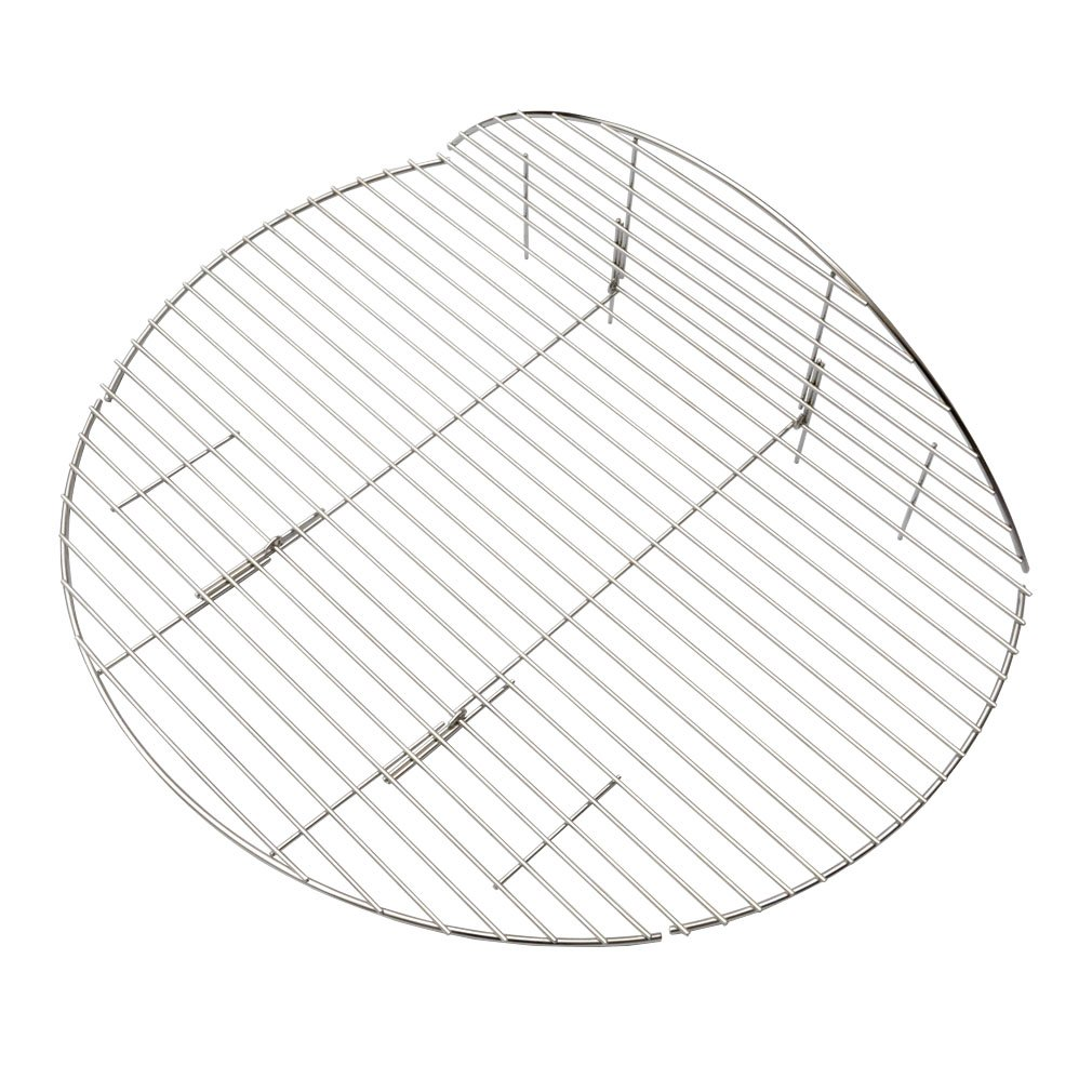 onlyfire BBQ Solid Stainless Steel Rod Foldable Cooking Grates for Grill, Fire Pit, 36-inch