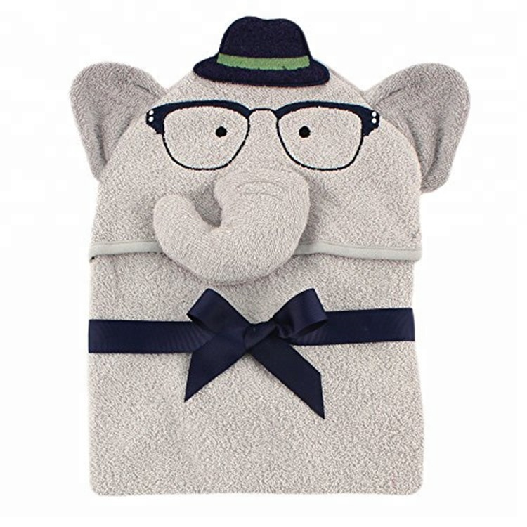 soft child hooded bath <strong>towel</strong> wholesale custom animal hood cotton kids bath <strong>towel</strong>