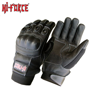 Real Leather Racing Motorcycle Moto Gloves