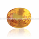 Natural Yellow Sapphire Oval Cut Loose Gemstone