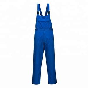 Workwear Working Uniform Men Dungarees Suit