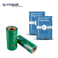 Shampoo packaging plastic roll film/sachet/pouch