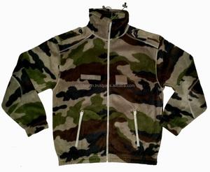 Army Camouflage Wholesale Men's Fleece Jacket