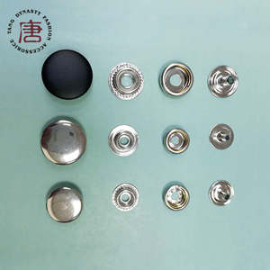 Sewing logo press metal custom snap buttons for handbag