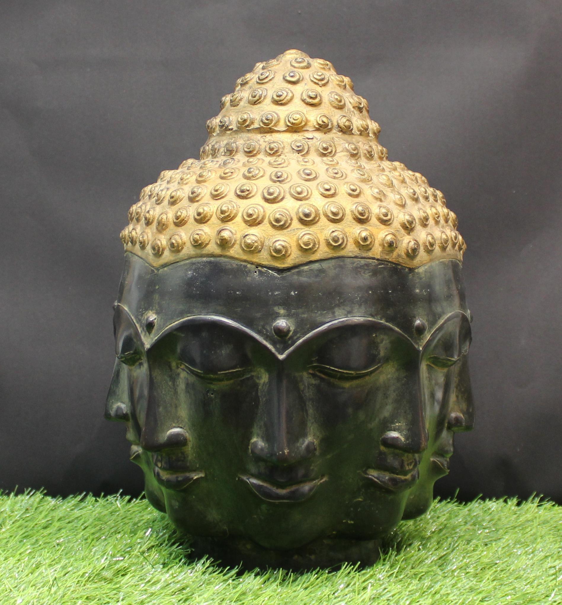 Br Idol 8 Face Buddha Head Home