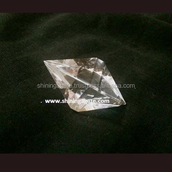 Crystal Quartz Double Pyramid : Pranic Healing Crystals - Buy Healing  Crystal Pyramid,Healing Crystals,Pyramid Crystals Product on Alibaba com