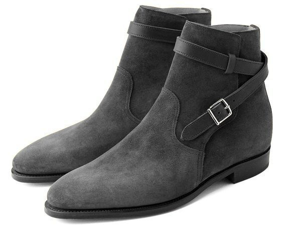 mens suede dress boots