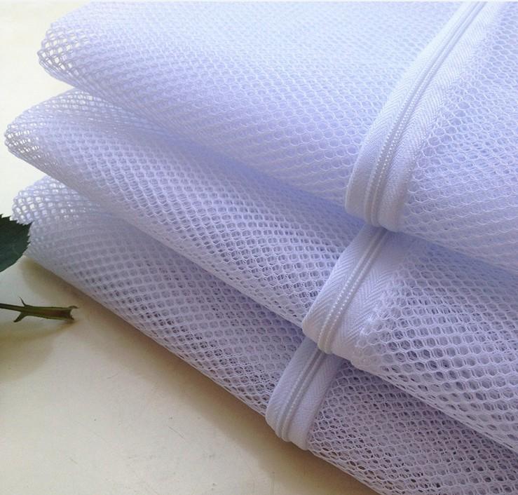 Reusable Premium Zipper Mesh Laundry Washing Bags With Thin Large Bag For Machine Jumbo