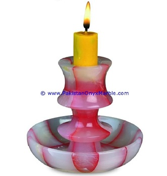 Polished & Highest Quality Best Selling Products Onyx Candle Holder Home & Office Decoration Gift