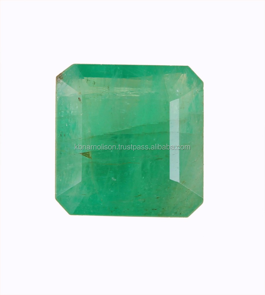 10.06 cts Natural Emerald octagon Russian emerald loose Natural stone