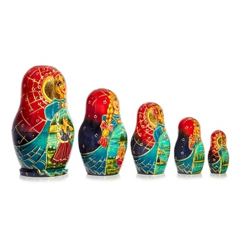Five piece Matryoshka dolls C-244 (666)