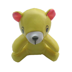 PVC vinyl animals manufacturer plush bear stuffed vinyl toy bear