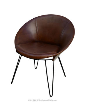 Pleasant Round Seat Leather Chair Buy Dining Leather Chairs Cafe Chair Round Bar Chair Product On Alibaba Com Ncnpc Chair Design For Home Ncnpcorg
