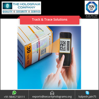 Custom Design Barcode QR Code Label Sticker