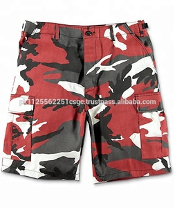 Red Camouflage Shorts 7ca31ff7768