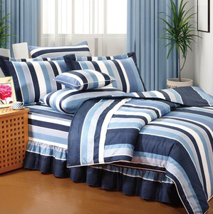 100% cotton  fitted sheet bedding set