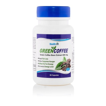 Healthvit Vitamin Supplements Green Coffee Bean Extract 800mg