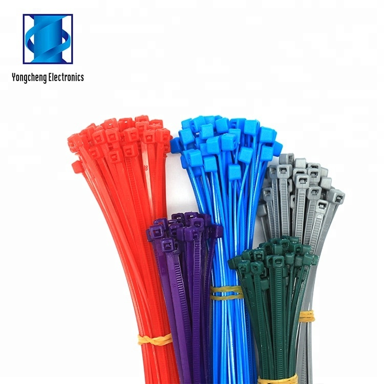Auto-bloccaggio 300mm UV di Plastica Morbido Nylon Cavo Zip Ties