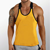 Muscle Fitted Custom Singlet Mens Gym Stringer Tank Top Wholesale