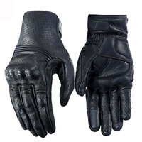 Waterproof Gloves Motorcycle Cycling Riding Racing Leather Gloves
