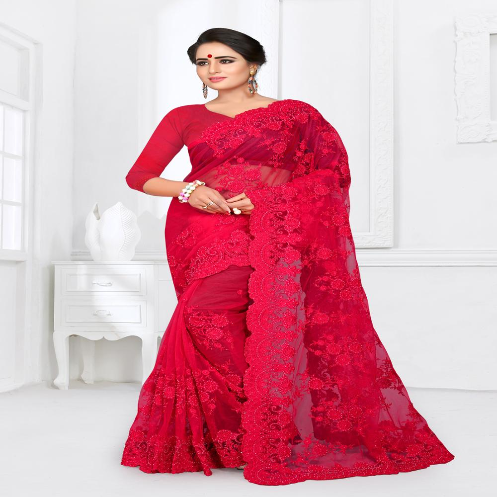 5b260d0bc0 party wear net sarees images,photos & pictures on Alibaba