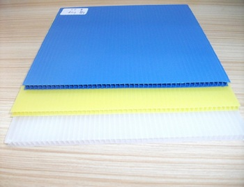 Green 2018 cheap Plastic pp Corrugated 8mm Polypropylene Danpla Sheets for making packing boxes