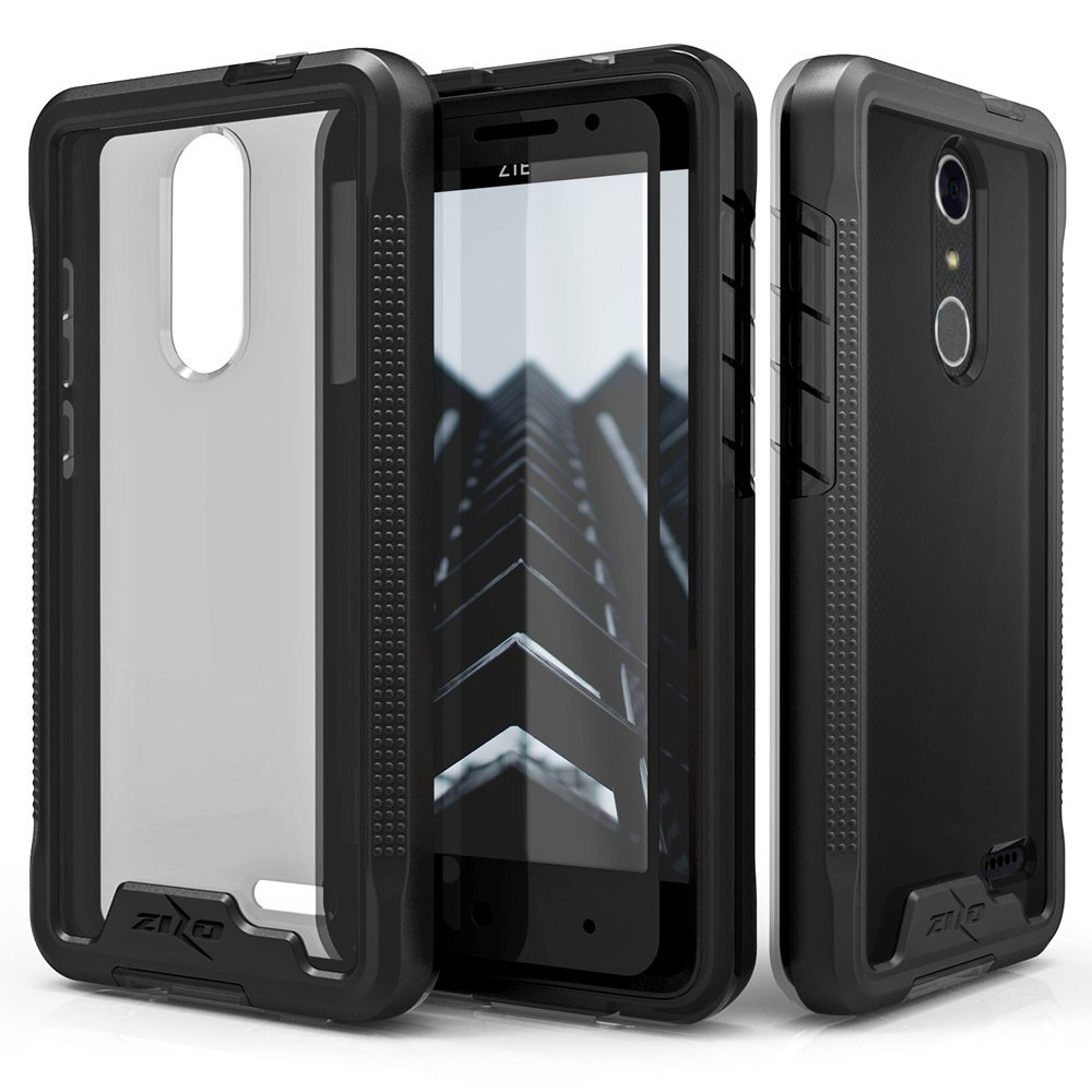 ZTE Grand X4 Case, Zizo [ION Series] w/ FREE [ZTE Grand X4 Screen Protector] Crystal Clear [Military Grade] for ZTE Grand X 4 Z956 / Blade Spark Z971