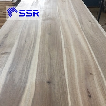 Acacia/Wenge/Black Walnut Wood Table Top For Furniture