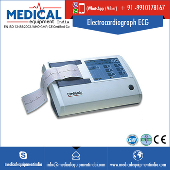 Convenient One Touch Electrocardiograph ECG Machine