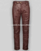Wholesale Cheap Black Leather Pants For Women Stretch Sexy Zip Up Side Pockets Winter
