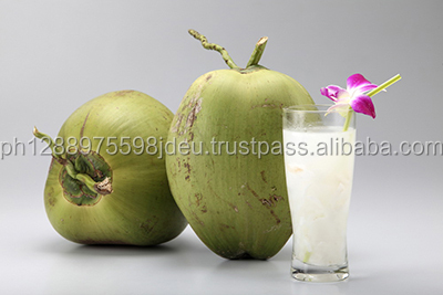 Coconut water with pineapple juice