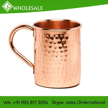 R3 Hammered Copper Moscow Mule Mugs