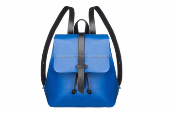 Wholesale Leather Mini Backpack  Blue Leather Backpack  Leather Tote Bag  Women  Blue Bag 2e4dcc6c66