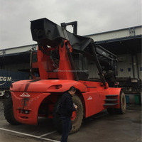 Used cheap Linde C4531TL5 container reachstacker on sale in Shanghai