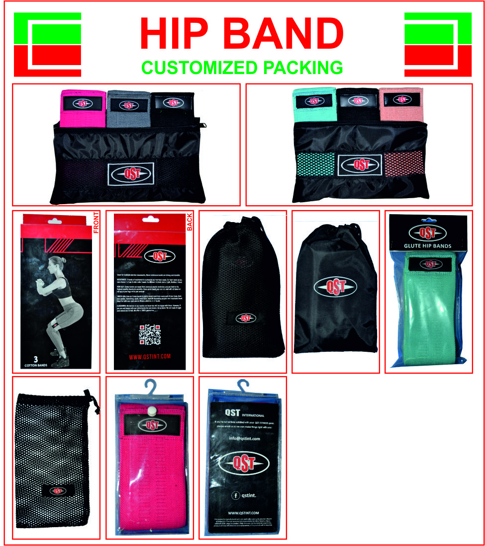 Premium Glute Weerstand Band Hip Warm Up Activering Cirkel