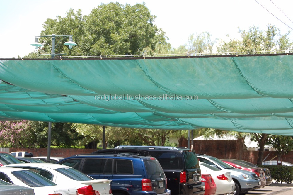 Factory Supply Plastic Car Parking Shade Cloth