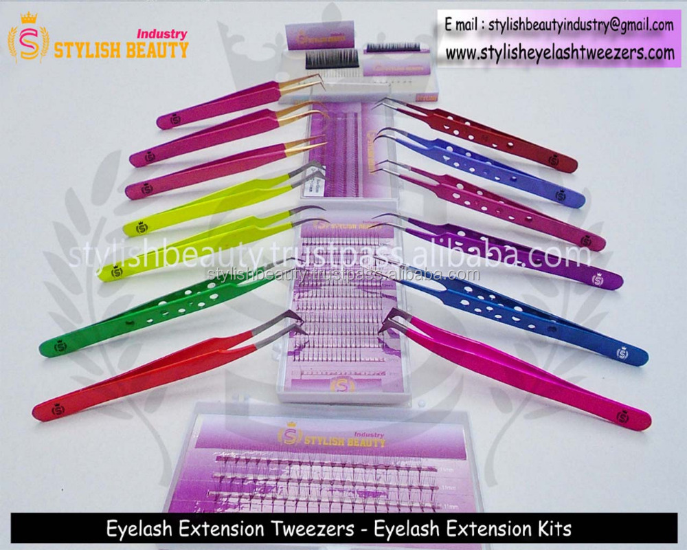Volume Lash Tweezers  Tweezers For Lash Experts  Buy Eyelash  Extensiontweezers Under Custom Brand Name From Stylish Pakistan - Buy Rose  Gold Is Very