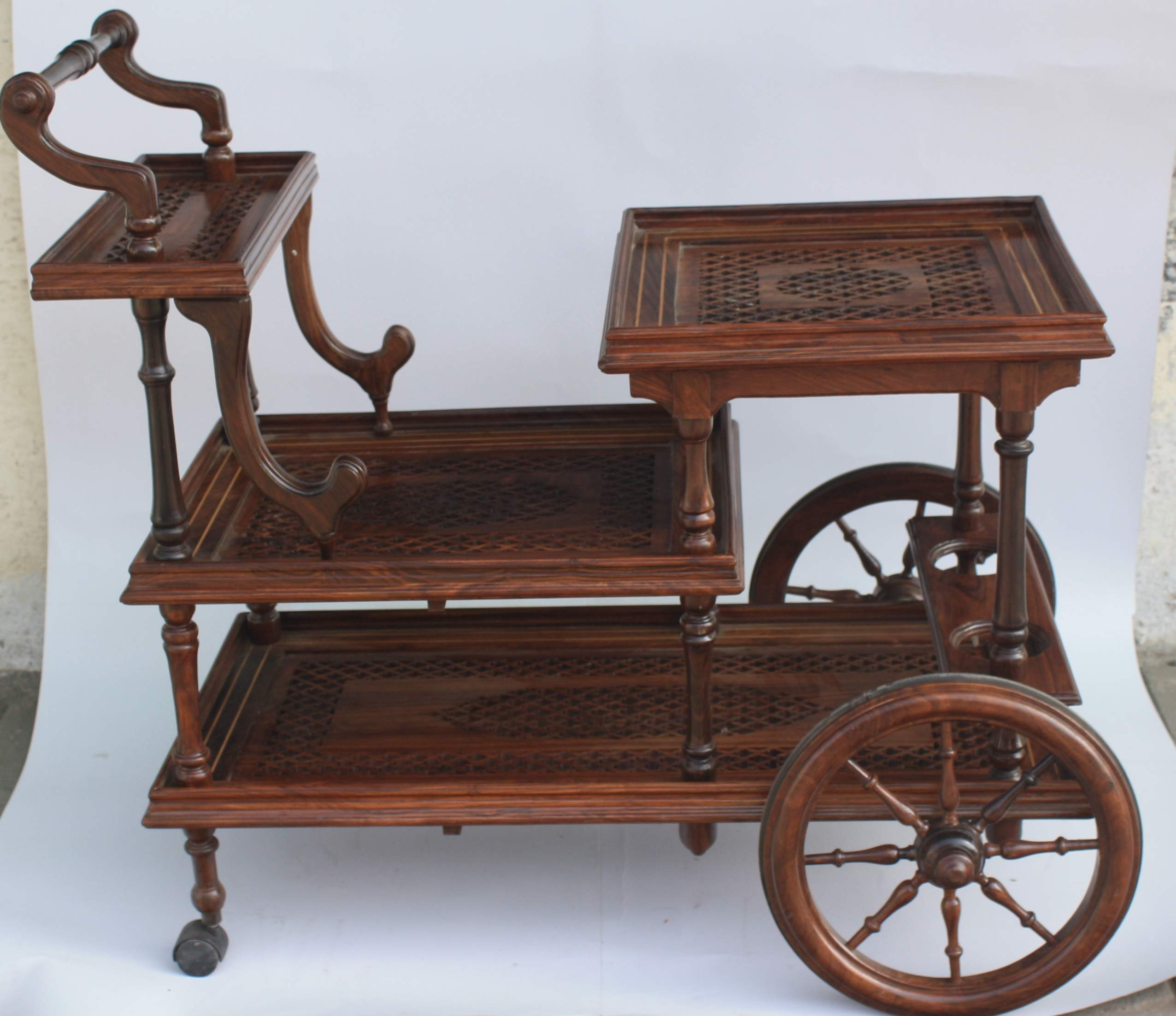 Antique Tea Trolley Carving Tea Carthandmade Carved Trolleyserving Wooden Food Trolley Buy Kids Tea Trolleyantique Wooden Serving Trolleyantique