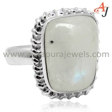 Fashionable Rainbow Moonstone Fancy 925 Sterling Silver Ring, Fresh Silver Jewelry, Handmade Silver Jewellery