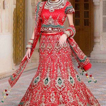 1f83da77ee65 Indian Pakistani Wedding Bridal Lehenga Choli Latest Designs - Buy ...