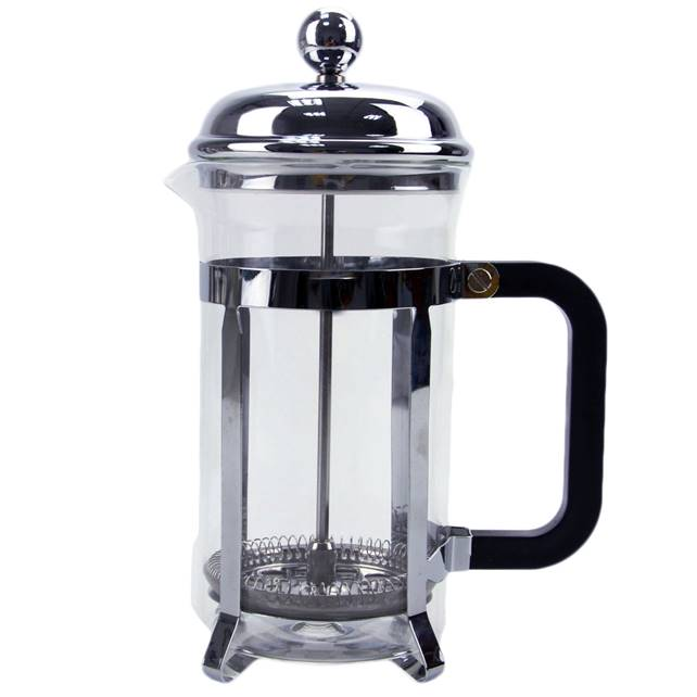Borosilicatglas Kaffee Plunger French Press
